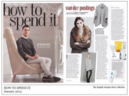 How to spend it  January 2014