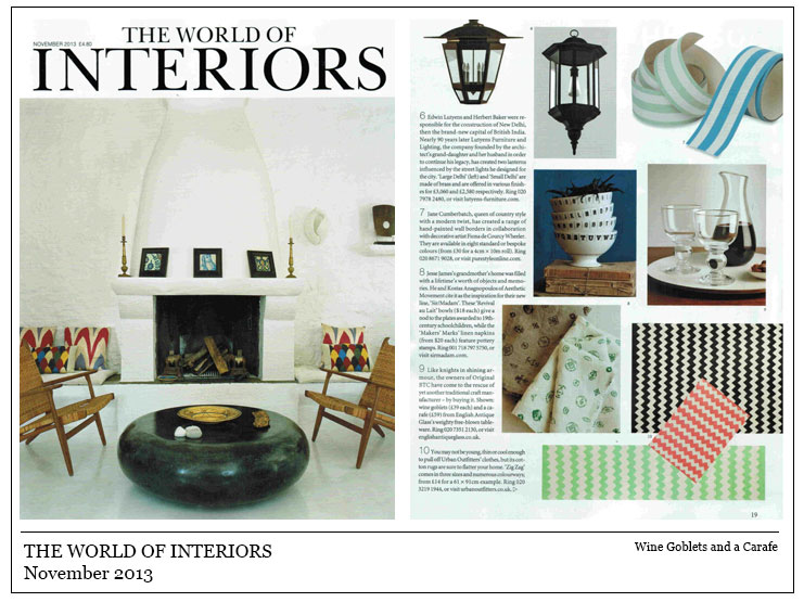 The World Of Interiors November 2013