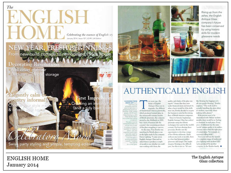 English Home January 2014