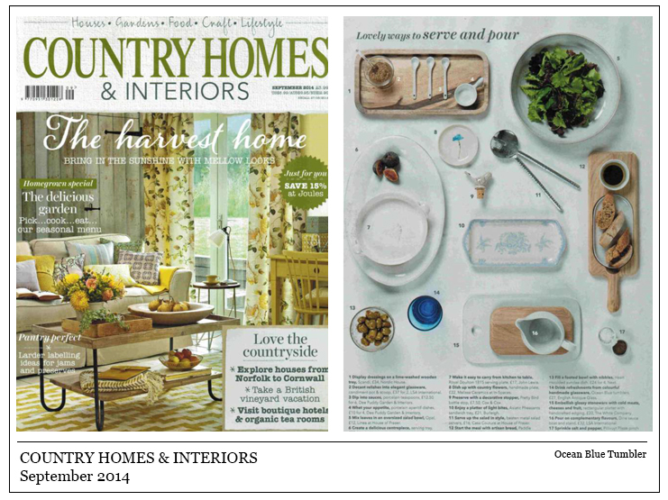 Country Homes & Interiors September 2014
