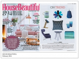 House Beautiful, February 2016